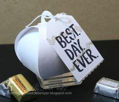 Wedding Keepsake Favor Box