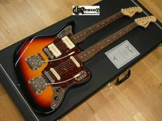 Double neck custom Jaguar/Bass VI
