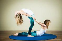 acro yoga poses - Google Search