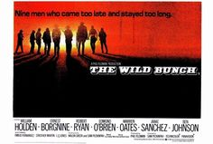 The Wild Bunch 27x40 Movie Poster (1969)