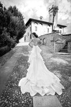 SOPHRONIA www.alessandrarinaudo.it #nicolespose #weddingdress #hautecouture