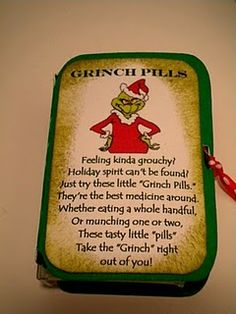 behavior modification idea around the holidays....my family so needs these at every holiday function!!!