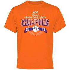 Clemson Tigers 2013 ACC Womens Outdoor Track & Field Champions T-Shirt