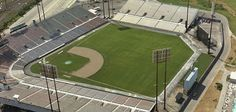 Montreal's Jarry Stadium. Home of the Expos between 1969-1976