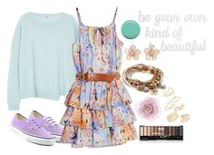 Daughter Of Iris by cfull on Polyvore featuring polyvore fashion style GUESS by Marciano J Brand Vans Lizzy James Mixit Topshop Accessorize Jin Soon PBteen clothing