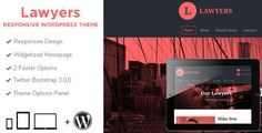 30+ Amazing Lawyer WordPress Themes 2016