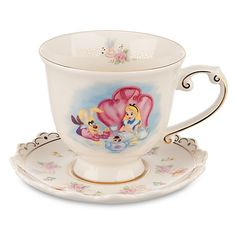Alice in Wonderland Teacup and Saucer Set from DisneyParks