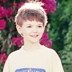 """Thomas Sangster in The Miracle of the Cards (2001)"" He's so cute!"