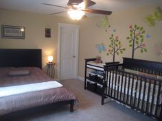 Baby Girl Nursery & Guest Room