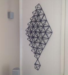 Geometric Decor, 3d Drawings, Straws, Light Art, Xmas Decorations, Hostel, Decorative Items, Paper Flowers, Paper Art