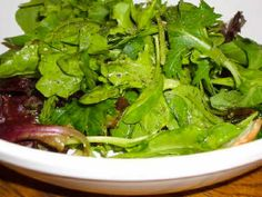 Mary's Perfect Salad Dressing for Spring Salad Mix