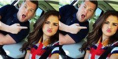 Selena Gomez is Currently Dominating Carpool Karaoke With James Corden