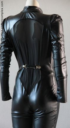 Catsuit Goth Gothic Biker Steampunk Catwoman Cosplay by chrisst, $349.00