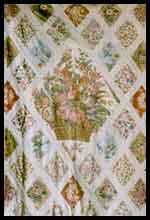 Central panel of the Jane Austen Quilt - Chawton, Hampshire.