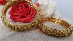 Antique style bangles @nazma_khalique on instagram