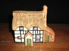 John Putnam's Heritage Houses, Shropshire Thatched Cottage(133), Ceramic, Englan  | eBay