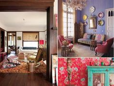 Eclecticism, different, mixing and matching, romance, whimsy, worldly, cultures. These are all worlds that describe the bohemian lifestyle. Dressing your home to fit these measurements is anything but boring. And we're here to provide you some ideas and inspiration to get you started on your journey to a bohemian-flavored home.