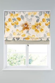 Buy Ochre Watercolour Bloom Blind from the Next UK online shop