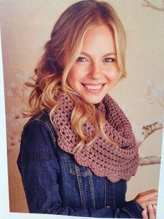 Rowan crochet cowl | #crochet Issue 2