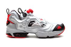 Reebok Pump Fury Silver/Black/Red