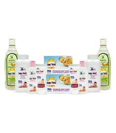 Baby First Total Skin Protection Super Saver Combo INR: 520.00 Soft, mild with gentle fragrance baby care products included in Baby First Total Skin Protection Super Saver Combo pack that keeps your infant's skin nourished naturally and organically. Baby Oil 100ml 2pc, Baby Soap 100gm 2pc, Baby Powder 100gm 2pc, Baby Lotion 50gm 2pc, Baby Cream 30gm 2pc