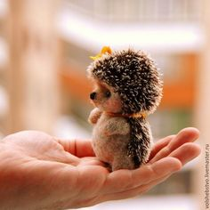 Needle Felting – Needle Felting Tutorials and felt crafts Baby Animals Super Cute, Cute Little Animals, Cute Funny Animals, Needle Felted Animals, Felt Animals, Animals And Pets, Needle Felting, Zoo Animals, Cute Puppies