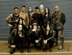 Rammstein and Deathstars