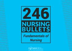 Another set of the ultimate reviewer for Fundamentals of Nursing. The Nursing Bullets are compilation of bite-sized information that are extremely useful during your review for the NCLEX or the board exams.
