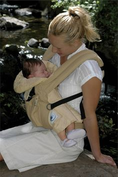 Never worn it like this?!  Ergo Baby Carrier