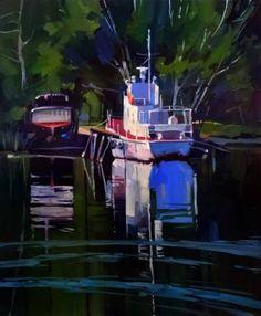 "Saatchi Art Artist Anastasia Yaroshevich; Painting, ""Summer in Nikolaev"" #art"