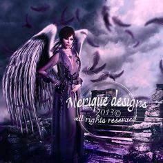 Photoshop, Halloween Dark, angel, girl, fantasy