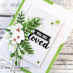 Something for our beautiful Daughter in Love using @simonsaysstamp @poppystamps @fabercastellusa @dawnwplus9 . #bloglinkinmyprofile #pennywardink #cardmaking #ssswednesdaychallenge #sssflickrchallenge