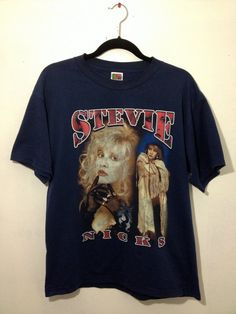 Vintage Stevie Nicks Band T Shirt by EuphoriaNineDesigns on Etsy, $19.00