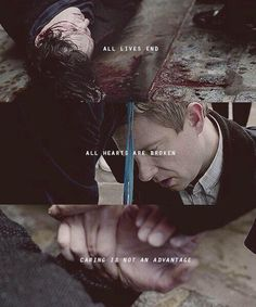 The Reichenbach Fall... Didn't need my heart anyway.... <= THIS IS NOT OKAY