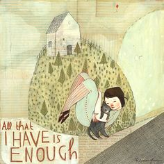 ALL THAT I HAVE IS ENOUGH - Rebecca Green