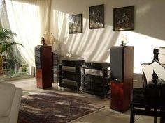 Home music listening room