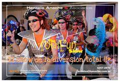 The Total Fun Show Contrataciones: Horacio Anache & Asociados Lun a Ver 13 a 18hs (011) 4 2 5 7 - 2 8 7 4 www.hanache.com.ar  #shows #fiestas #animacionfiestas #supplies #cotillon #anache