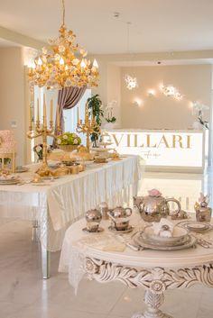 Tea Elegance... Villari boutique Istanbul