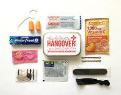 Las Vegas Unique Bachelorette Hangover Kit Oh by AlePinedaDesigns