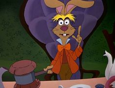 """""""If you don't think, then you shouldn't talk.""""  - March Hare,  Alice in Wonderland"""