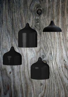 | LIGHTING | #Matte black pendant lights. Simply elegant.