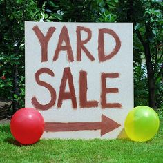 Tips for making the most of your yard sale