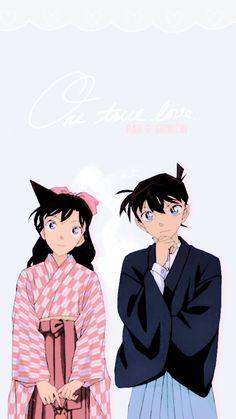 Manga Detective Conan, Detective Conan Shinichi, Ran And Shinichi, Kudo Shinichi, Magic Kaito, Yuri, Dc Couples, Detektif Conan, Detective Conan Wallpapers