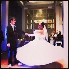 I was a Disney princess on my wedding day in a big ball gown