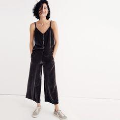 Velvet Pull-On Pants
