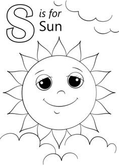 S Coloring Sheets letter s is for sun coloring page free printable coloring S Coloring Sheets. Here is S Coloring Sheets for you. S Coloring Sheets s coloring page coloring page book for kids. S Coloring Sheets colouring pages. Sun Coloring Pages, Letter A Coloring Pages, Coloring Letters, Free Printable Coloring Pages, Coloring Books, Apple Coloring, Coloring Sheets, Letter S Crafts, Letter S Activities