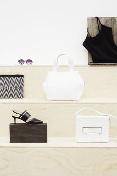 High summer accessories. Monochrome details