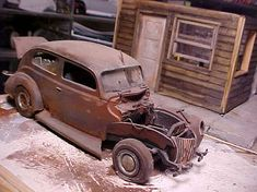 Junk Yard...UPDATE..new photos.... - Automotive Dioramas - Modeling Subjects - Scale Auto Community