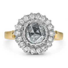 18K Yellow Gold, 18k White Gold The Adriane Ring from Brilliant Earth