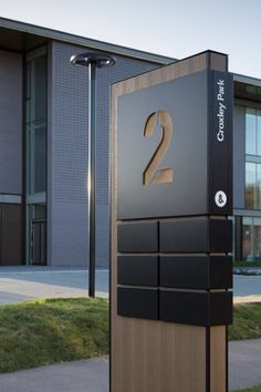 Brand Identity for Croxley Park. Park Signage, Directional Signage, Outdoor Signage, Wayfinding Signage, Signage Design, Parking Design, Exterior Signage, Exterior Design, Interior And Exterior
